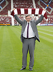 Craig Levein is the new Hearts manager