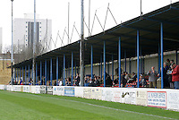 Main stand at the Recreation Ground - Grays Athletic Football Club - 03/04/04 - MANDATORY CREDIT: Gavin Ellis/TGSPHOTO. Self-Billing applies where appropriate. NO UNPAID USE. Tel: 0845 094 6026