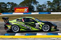 #88 Mark Motors Racing, Porsche 991 / 2017, GT3CP: Marco Cirone (M)