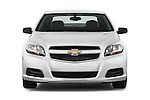 Straight front view of a 22013 Chevrolet Malibu 1LS Sedan