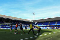 13th September 2020; Portman Road, Ipswich, Suffolk, England, English League One Footballl, Ipswich Town versus Wigan Athletic; The Wigan players warm up