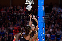 Silver Ferns' Te Paea Selby-Rickit in action during the International Netball - NZ Silver Ferns v England Roses at Te Rauparaha Arena, Porirua, New Zealand on Thursday 7 September 2017.<br /> Photo by Masanori Udagawa. <br /> www.photowellington.photoshelter.com