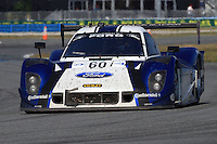 Rolex 24 at Daytona, Daytona International Speedway, January 2013. (Photo by Brian Cleary/www.bcpix.com)