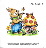 EASTER, OSTERN, PASCUA, paintings+++++,KL4585/4,#e#, EVERYDAY ,rabbit,rabbits ,sticker,stickers,