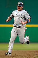 16 June 2006: Jason Giambi, first baseman for the New York Yankees, in action against the Washington Nationals at RFK Stadium, in Washington, DC. The Yankees defeated the Nationals 7-5 in the first meeting of the two franchises...Mandatory Photo Credit: Ed Wolfstein Photo...