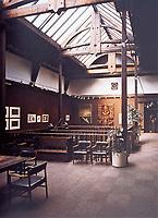 Glasgow School of Art--design gallery.<br /> Charles Rennie Mackintosh. Glasgow Scotland.