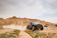 7th January 2021; Riyadh to Buraydah, Saudi Arabia; Dakar Rally, stage 5;  309 Terranova Orlando (arg), Graue Bernardo (arg), Mini, X-Raid Mini JCW Rally Team, Auto, action during the 5th stage of the Dakar 2021 between Riyadh and Buraydah, in Saudi Arabia on January 7, 2021