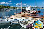 Quisset Harbor in Falmouth, Cape Cod, Massachusetts, USA
