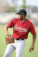 March 16th 2008:  Fernando Abad of the Houston Astros minor league system during Spring Training at Osceola County Complex in Kissimmee, FL.  Photo by:  Mike Janes/Four Seam Images