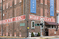 Wilbur Chocolate Company factory and candy museum, Lititz, Lancaster County, Pennsylvania, USA