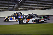 #4: Todd Gilliland, Kyle Busch Motorsports, Toyota Tundra Mobil 1, #7: Korbin Forrister, All Out Motorsports, Toyota Tundra Now Matters More