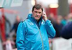 Hamilton Accies v St Johnstone….18.05.19      New Douglas Park        SPFL<br />Saints boss Tommy Wright<br />Picture by Graeme Hart. <br />Copyright Perthshire Picture Agency<br />Tel: 01738 623350  Mobile: 07990 594431