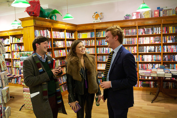 Philip Womack, Rebecca Hoffnung and Francis Boulle