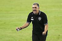 Rio de Janeiro (RJ), 07/03/2021 - Botafogo-Resende - Marcelo Chamusca treinador do Botafogo,durante partida contra o Resende,válida pela 2ª rodada da Taça Guanabara,realizada no Estádio Nilton Santos (Engenhão), na zona norte do Rio de Janeiro,neste domingo (07).