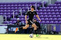 Orlando, Florida - Monday January 15, 2018: Marcelo Acuna. Match Day 2 of the 2018 adidas MLS Player Combine was held Orlando City Stadium.
