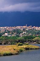 Europe/France/Corse/2A/Corse-du-Sud/Porto-Vecchio: Vue générale du village