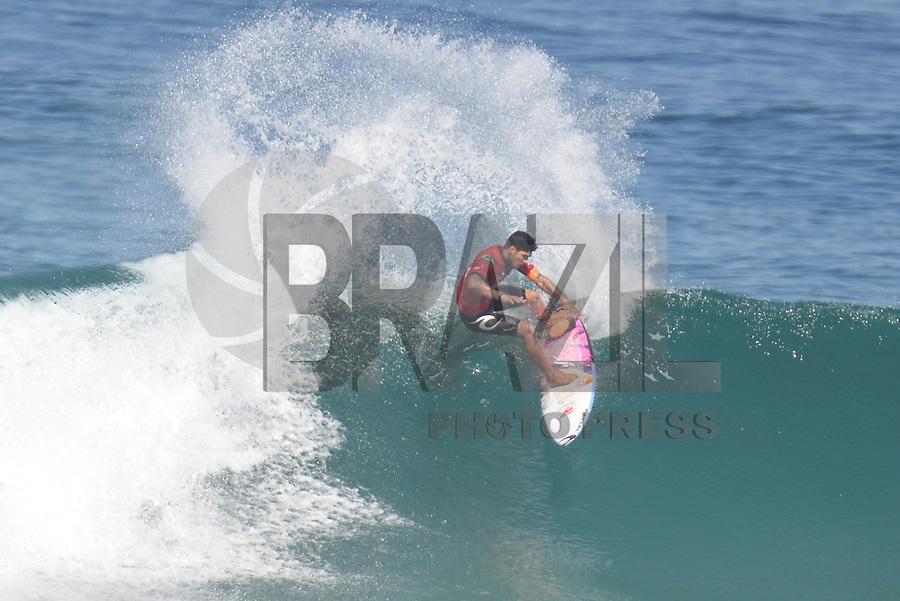 SAQUAREMA, RJ, 16.05.2018 - WSL-RJ - Gabriel Medina, no Oi Rio Pro etapa da WSL na Praia de Itaúna, Saquarema, Rio de Janeiro nesta quarta-feira, 16. (Foto: Clever Felix/Brazil Photo Press)