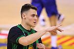 League ACB-ENDESA 2020/2021.Game 15.<br /> FC Barcelona vs Club Joventut Badalona: 88-74.<br /> Nenad Dimitrijevic.