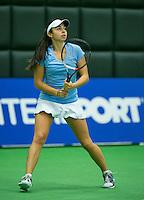 19-12-13,Netherlands, Rotterdam,  Topsportcentrum, Tennis Masters,  Eva Wacanno(NED)  <br /> Photo: Henk Koster