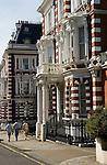 Horton street, The Royal Borough of Kensington and Chelsea London W8. England. 2006.