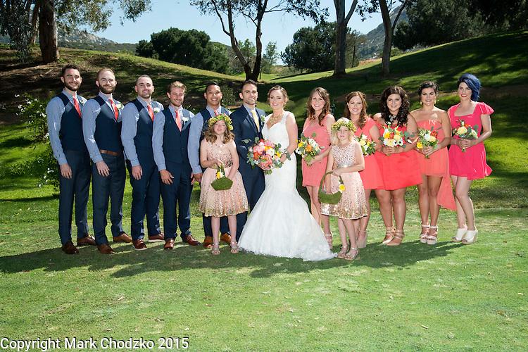 Lauren & Josh wedding party.