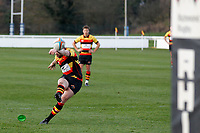 PENALTY - Tom Hodgson of Richmond Rugby scores during the English National League match between Richmond and Blackheath  at Richmond Athletic Ground, Richmond, United Kingdom on 4 January 2020. Photo by Carlton Myrie.