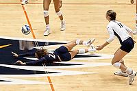 SAN ANTONIO, TX - AUGUST 21, 2021: The University of Texas at San Antonio Roadrunners defeat the Sam Houston State University Bearkats 3-0 in an exhibition match at the Historic UTSA Convocation Center. (Photo by Jeff Huehn)