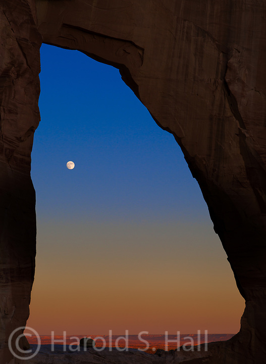 White Mesa Arch is a difficult to find arch in northern Arizona.  One must negotiate a myriad of dirt roads in Indian land.  You also have to get permission to cross the final couple miles.