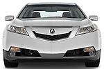 Straight front view of a 2009 - 2014 Acura TL SH AWD Sedan.