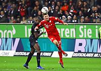 Thomas Mueller (FC Bayern Muenchen) gegen Evan N'Dicka (Eintracht Frankfurt) - 22.12.2018: Eintracht Frankfurt vs. FC Bayern München, Commerzbank Arena, DISCLAIMER: DFL regulations prohibit any use of photographs as image sequences and/or quasi-video.