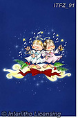 Fabrizio, Comics, CHRISTMAS CHILDREN, WEIHNACHTEN KINDER, NAVIDAD NIÑOS, paintings+++++,ITFZ91,#xk# ,angel,angels