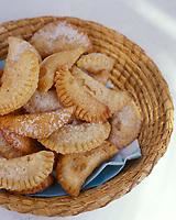 """Europe/Espagne/Canaries/Lanzarote/San Bartolomé : Torrijas conejeras (beignets anisés)- Recette du restaurant """"Casa del Campesino"""""""