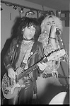 Tracii Guns & Taime Downe at The Central , Los Angeles 1986