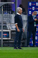 Milan, Italy - september 25 2021 - Serie A match F.C. Internazionale - Atalanta BC San Siro stadium - gasperini gian piero trainer atalanta bc