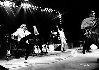 File photo circa 1985 - Francis Cabrel in concert