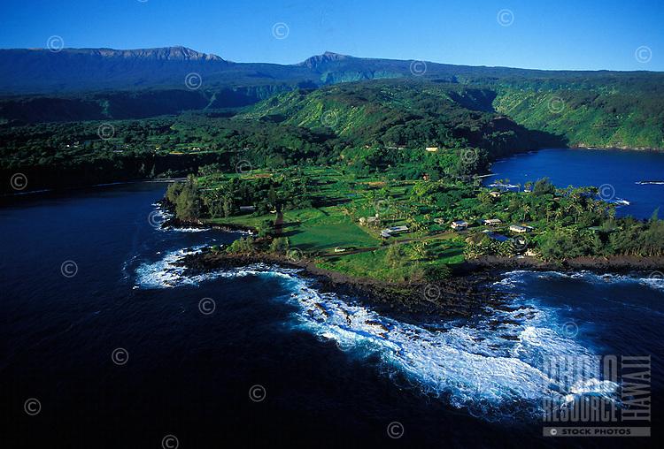 Keane Peninsula, an isolated traditional taro community, along the Hana coast