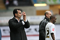 Pictured: Roberto Martínez manager of Swansea City<br />