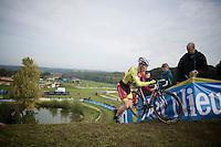 Laurens Sweeck (BEL/Corendon-Kwadro)<br /> <br /> GP Mario De Clercq<br /> Hotondcross 2014