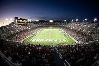 Stanford Stadium, 2009 Big Game between University of California Berkeley and Stanford University, Nov 21, 2009.