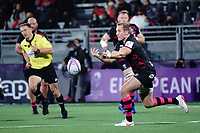 16th October 2020, Stade Maurice David, Aix-en-Provence, France;  Challenge Cup Rugby Final Bristol Bears versus RC Toulon;  Callum Sheedy (Bristol Bears) passes along his line