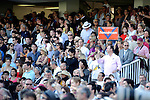 Fans celebrate  for Danedream  winner of The Qatar Prix De L' Arc De Triomphe Turf  (Group I) apart of the Breeders Cup Win and You're In at  Longchamp Race Course in Paris,France  on 10/02/11.  (Ryan Lasek / Eclipse Sportwire)