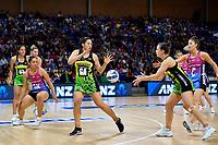 Te Amp Amaru-Tibble of the Pulse during the ANZ Premiership Netball - Te Wānanga o Raukawa Pulse v Southern Steel at Te Rauparaha Arena, Porirua, New Zealand on Sunday 16 May 2021.<br /> Photo by Masanori Udagawa. <br /> www.photowellington.photoshelter.com