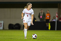STANFORD, CA - NOVEMBER 22: Stanford, CA - November 22, 2019: Belle Briede at Laird Q. Cagan Stadium. The Stanford Cardinal defeated Hofstra 4-0 in the second round of the NCAA tournament. during a game between Hofstra and Stanford Soccer W at Laird Q. Cagan on November 22, 2019 in Stanford, California.