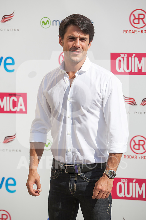 Alejo Sauras poses during the `Solo quimica´ film presentation in Madrid, Spain. July 14, 2015. (ALTERPHOTOS/Victor Blanco)