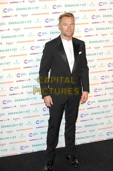 LONDON, UK, NOVEMBER 30: Ronan Keating at the Emeralds And Ivy Ball, Old Billingsgate Market on November 30th, 2013 in London, England.<br /> CAP/CJ<br /> ©Chris Joseph/Capital Pictures