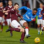 26.01.2020 Hearts v Rangers: Craig Halkett and Jermain Defoe