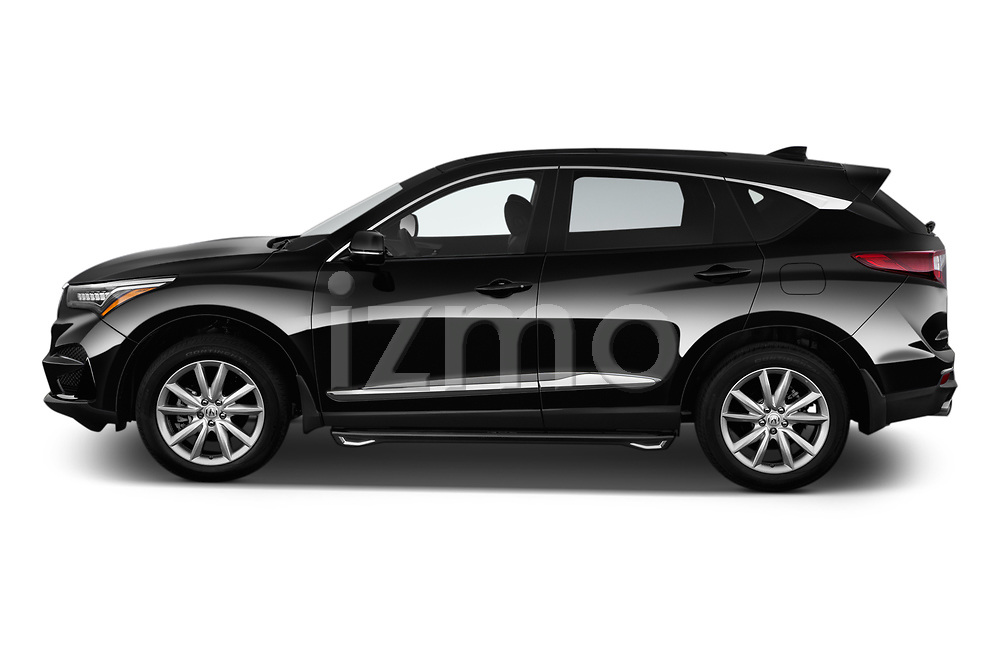 Car driver side profile view of a 2020 Acura RDX RDX 5 Door SUV