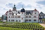 Germany, Thuringia, Ohrdruf: Ehrenstein Castle | Deutschland, Thueringen, Ohrdruf - am Nordrand des Thueringer Waldes: Schloss Ehrenstein