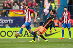 Atletico de Madrid vs Valencia CF, a La Liga match at the Estadio Vicente Calderon on 05 March 2017 in Madrid, Spain. Photo by Diego Gonzalez Souto / Power Sport Images