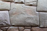 Peru, Cusco.  Twelve-angled Stone, Fine Example of Inca Stone Work.